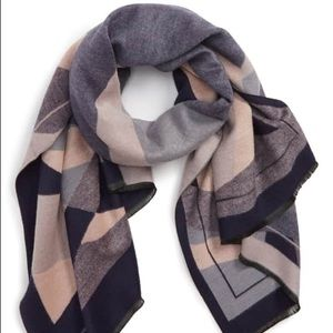 Leith Abstract Geo Print Scarf